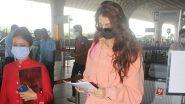 मुंबई एयरपोर्ट पर नज़र आई अभिनेत्री Disha Patani, तस्वीरें हुई वायरल
