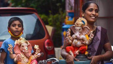 Mumbai: मुंबई में गणपति उत्सव के पांचवें दिन 66,000 से अधिक प्रतिमाओं का विसर्जन