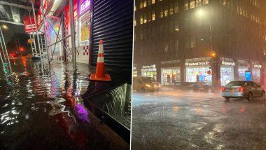 New York City Flood: न्यूयॉर्क में तूफान 'इडा' का कहर, अबतक 41 लोगों की हुई मौत