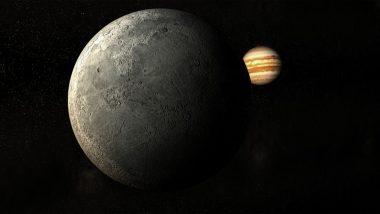 Rare Celestial Conjunction: शनि के बाद आज बृहस्पति से दुर्लभ खगोलीय युति बनाएगा चंद्रमा, जानें इस अद्भुत आकाशीय घटना के बारे में