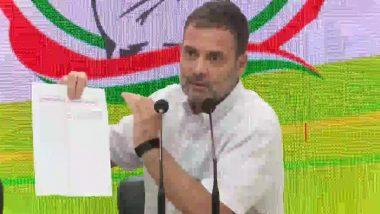 राहुल गांधी ने कोरोना वैक्सीनेशन का ग्राफ साझा कर कसा तंज, लिखा- 'इवेंट खत्म'