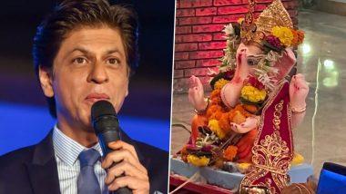 Ganpati Visarjan 2021: Shah Rukh Khan ने घर विराजे बाप्पा को किया विदा, अगले बरस जल्द आने की प्रार्थना करते आए नजर