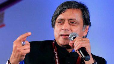 Shashi Tharoor ने कांग्रेस में तत्काल नेतृत्व बदलने की मांग की