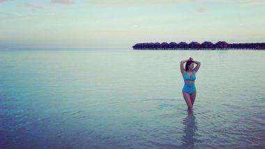 Sunny Leone Bikini Photo: ब्लू बिकिनी पहन समुंद्र में पहुंची सनी लियोनी, फोटो देखकर फैंस बोले- जलपरी