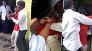 सुई के डर से शख्स ने कोविड टीका लेने से किया मना, दोस्तों ने जमीन पर पटककर लगवाया इंजेक्शन, वीडियो देख नहीं रोक पाएंगे हंसी
