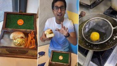 Video: दुबई का ये रेस्तरां बेच रहा है दुनिया का पहला 22 कैरेट गोल्ड प्लेटेड वड़ा पाव, जानें इसकी कीमत, देखें वीडियो