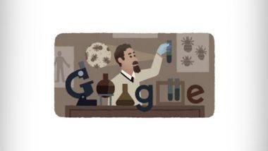 Rudolf Weigl's 138th Birthday Doodle: रुडोल्फ़ वाइगल की 138वीं जयंती पर गूगल ने शानदार डूडल बनाकर किया उन्हें याद