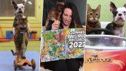 कुत्ते और बिल्ली ने एक साथ स्कूटर की सवारी कर बनाया विश्व रिकॉर्ड, मनोरंजक वीडियो हुआ वायरल