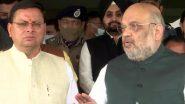 Uttarakhand: भारी बारिश के बाद कैसे हालात? गृह मंत्री अमित शाह ने किया प्रभावित इलाकों का दौरा