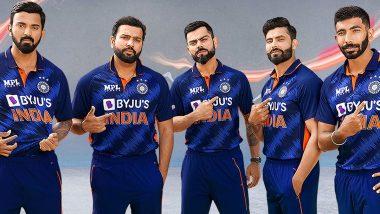 T20 World Cup 2021 के लिए टीम इंडिया की जर्सी का हुआ अनावरण- देखें तस्वीर