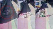 Mumbai: सैंडहर्स्ट रोड रेल्वे स्टेशन पर चलती ट्रेन से चढ़ते के दौरान गिरी महिला, RPF के कर्मचारी ने मसीहा बनकर बचाई जान (देखें वीडियो)