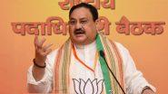 रांची में BJP के एसटी मोर्चा सम्मेलन का उद्घाटन करेंगे जेपी नड्डा