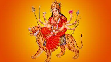 Shardiya Navratri 4 Days 2021: आज नवरात्रि के चौथे दिन करें देवी कुष्मांडा की पूजा! मिलती है सुख समृद्धि!