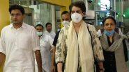 UP पुलिस ने प्रियंका गांधी को आगरा जाने से रोका, कांग्रेस महासचिव की ओर से आया ये बयान