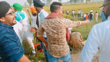 Farmers Protest: यूपी के लखीमपुर खीरी में केंद्रीय गृह राज्य मंत्री के काफिले की गाड़ियों से किसानों को कुचलने का आरोप, 2 की मौत, 8 घायल