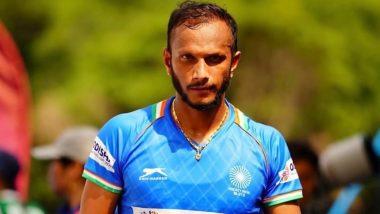 भारतीय स्ट्राइकर SV Sunil ने अंतरराष्ट्रीय हॉकी को कहा अलविदा