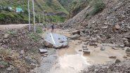 Uttarakhand: भारी बारिश से कोहराम, सड़कें टूटी, रेल लाइन ध्वस्त- अमित शाह आज करेंगे प्रभावित क्षेत्र का दौरा