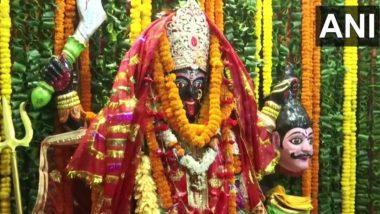 Navratri 2021: नवरात्रि शुरू होते ही हिमाचल के मंदिरों में उमड़े श्रद्धालु