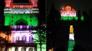 देश में 100 करोड़ वैक्सीनेशन का आंकड़ा पूरा होने पर सौ ऐतिहासिक स्मारकों को तिरंगे की रोशनी से किया गया जगमग (Watch Videos & Pics)