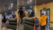Video: बिना मास्क पहने व्यक्ति को रेस्टोरेंट ने दिखाया बाहर का रास्ता, गुस्से में शख्स ने किया कुछ ऐसा...देखें वीडियो