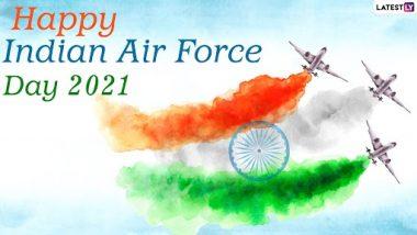 Indian Air Force Day 2021 Wishes: इंडियन एयरफ़ोर्स डे पर ये विशेज Greetings और HD Wallpapers के जरिए भेजकर दें बधाई