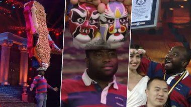 Viral Video: शख्स ने अपनी टोपी पर 735 अंडे संतुलित कर बनाया गिनीज वर्ल्ड रिकॉर्ड, देखें अद्भूत वीडियो