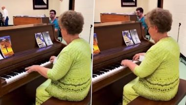 Viral Video: बुजुर्ग महिला ने पूरे उत्साह से पियानो पर बजाई सुंदर धुन, देखें मनमोहक वीडियो