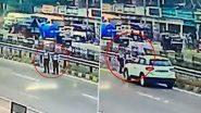 Video: जालंधर-फगवाड़ा हाईवे पर पुलिस अफसर की कार ने 2 लड़कियों को रौंदा, भयावह घटना सीसीटीवी में कैद