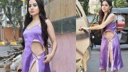 Urfi Javed Hot Photos: उर्फी जावेद ने हाई थाई स्लिट ड्रेस पहनकर दिखाई अदाएं, हॉटनेस देख रह जाएंगे हैरान