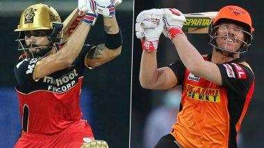 IPL 2021, RCB vs SRH: आज के मुकाबले में इन धुरंधरों के साथ मैदान में उतर रही है आरसीबी और हैदराबाद की टीम, पढ़ें प्लेइंग इलेवन